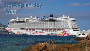 Norwegian Joy Ship Tour, Food & Activities (4K)