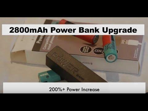 Power Bank Upgrade using 18650 Laptop Battery ⚡