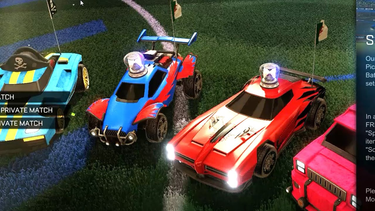 Rocket league matchmaking