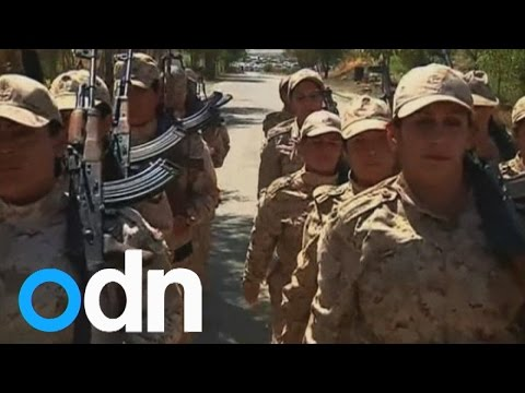 New female recruits join Kurdish forces to fight Islamic State