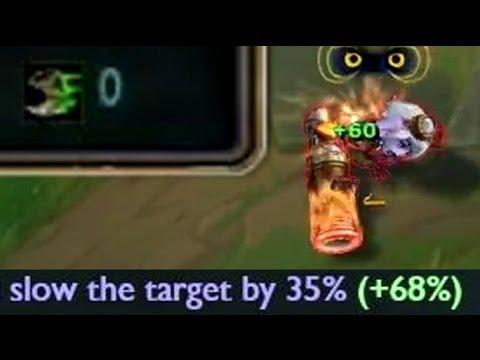 League of Legends 100% Slow - 1300+ AP Nami [League of Legends]