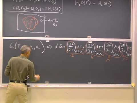 Lec 14 | MIT 5.60 Thermodynamics & Kinetics, Spring 2008