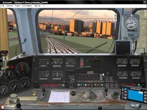 Simulatore treno locomotiva e655 youtube for Simulatore di arredamento