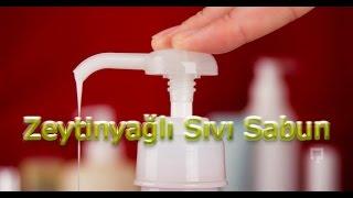 Evde Doğal Zeytinyağlı Sıvı Sabun Yapımı
