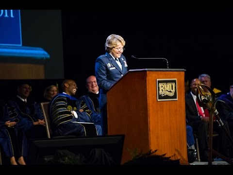 Lt. General Michelle D. Johnson Keynote Speech - RMU Inauguration