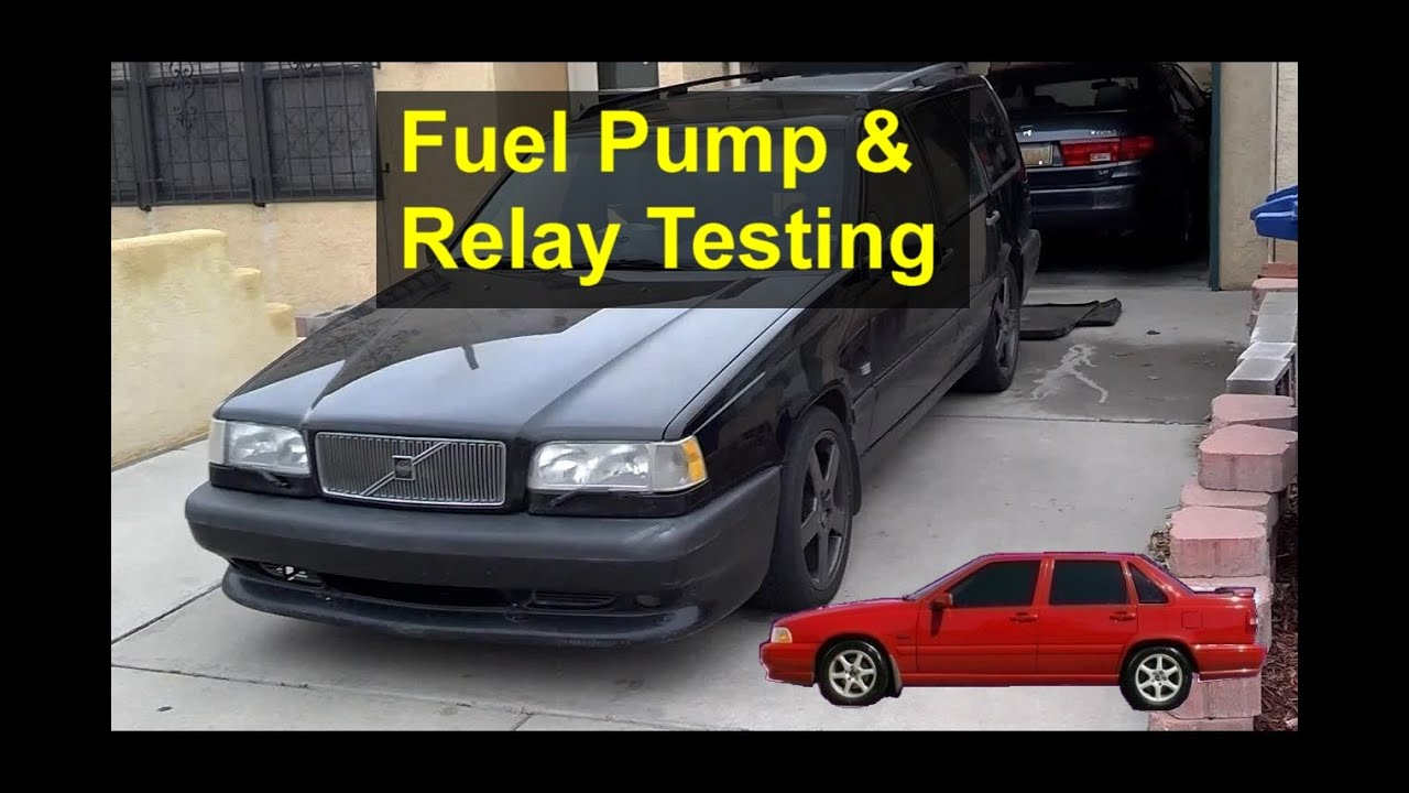hight resolution of random stalling will not start fuel pump and relay testing volvo 850 s70 v70 v70 xc etc