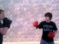 Crippled Kid wins fight