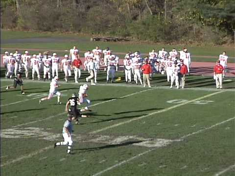 Wittenberg Football Highlights at the College of Wooster - November 6, 2004