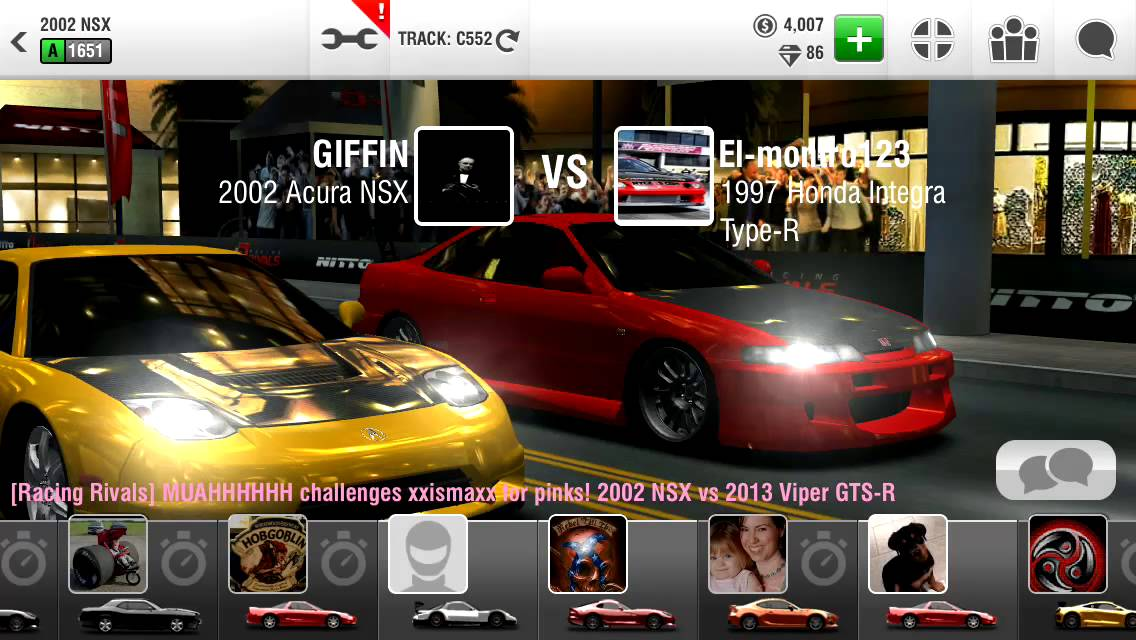 iphone racing rivals hack