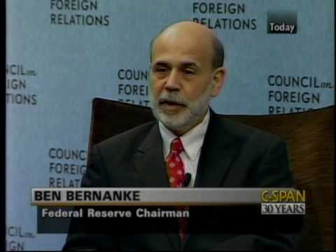 Bernanke Lessons of First Great Depression, Survival of Casino Capitalism