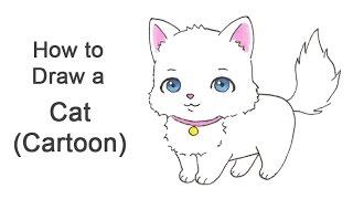 (Karikatür)bir Kedi Çizmek için nasıl