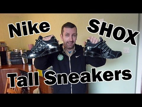 sneakers-that-make-you-taller---nike-shox-measurement