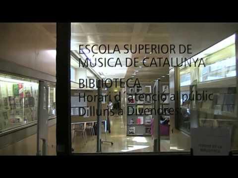 Escola Superior de Música de Catalunya ESMUC Barcelona