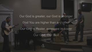 "CCBC Worship Team performs ""Our God"""