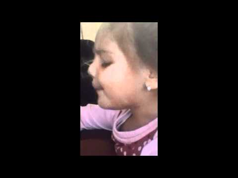 my cousin brianna singing baby by justin bieber