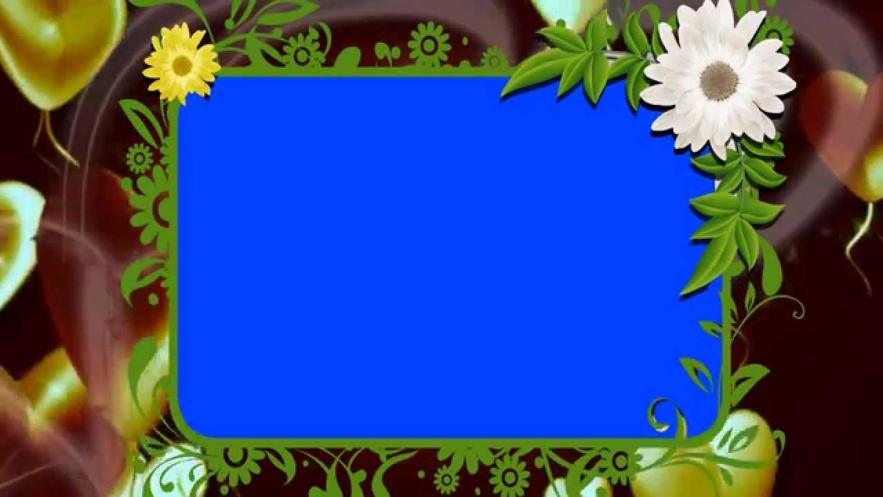 HD Animated Background Photo Frame Free Downloads - YouTube