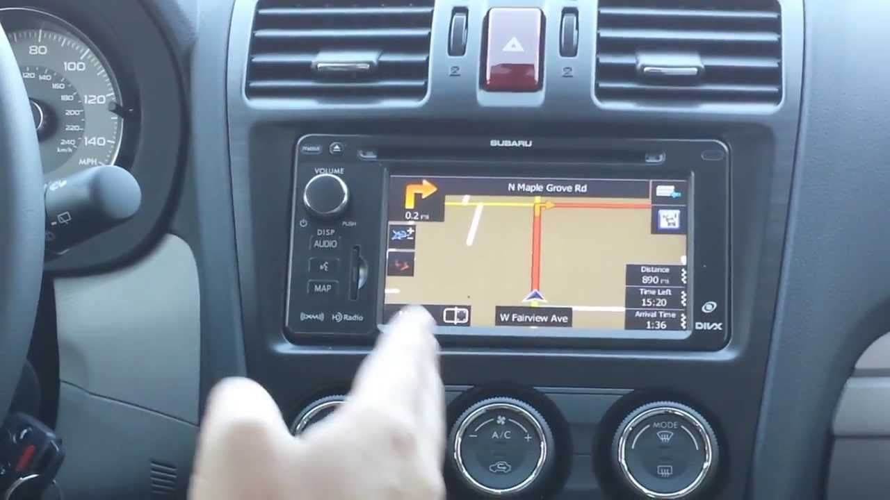 Larry H Miller Boise >> How to use Subaru Navigation system - YouTube