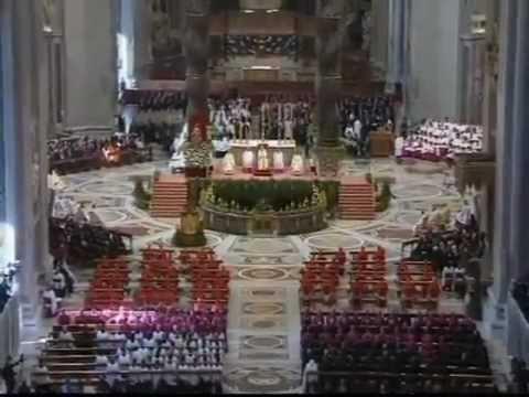 Pontificio Istituto Musica Sacra I  Bianchi, Adoro te, Walter Marzilli, direttore, Concistoro