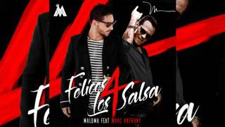 Maluma Ft Marc Anthony - Felices Los 4 (salsa Version) [Oficial Audio]