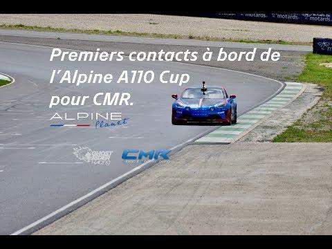 Premiers contacts à bord de l'A110 Cup pour CMR.