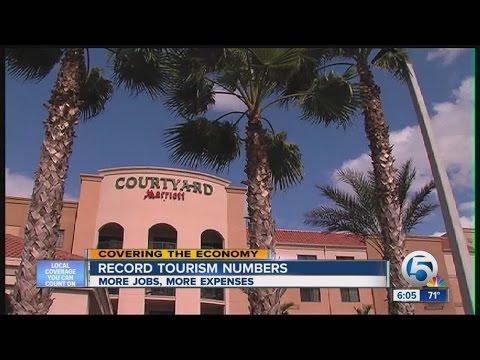 Florida tourism breaks a record