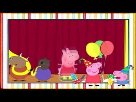 Cumpleanos feliz de la peppa pig