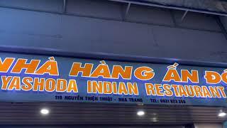 Нячанг | Обзор цен в индийском ресторане Yashoda
