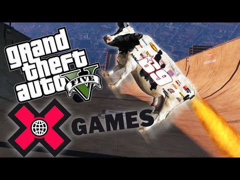 BEST OF THE X GAMES - GTA 5 PC X Games Mod