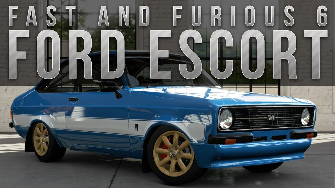 Forza 5 Fast Furious Car Build Brians Ford Escort Youtube & fast furious 6 cars 1971 jensen interceptor. fast furious 6 cars ... markmcfarlin.com