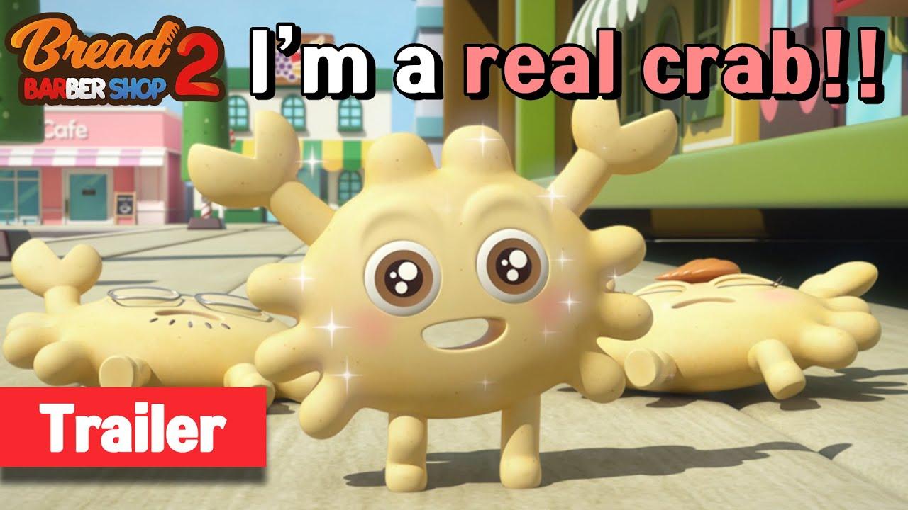 Download BreadBarbershop2   ep13   Crab or Cracker?   trailer   english/animation/dessert/cartoon