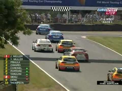 2008 WTCC - Race 1 at Brands Hatch - Full Race