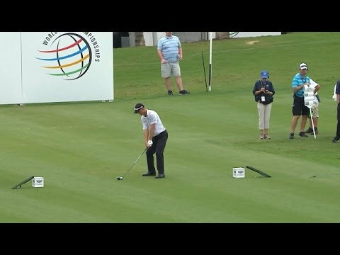 John Senden's bombing tee shot sets up eagle at Cadillac Championship
