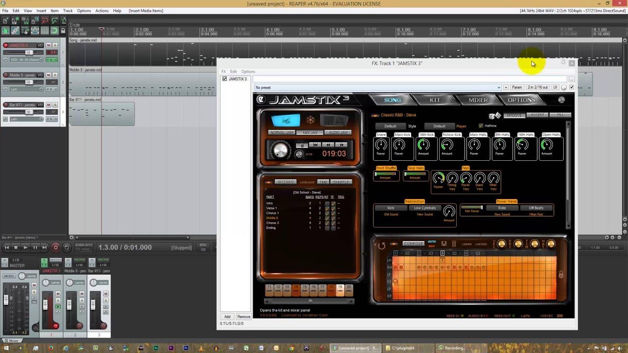 Jamstix Tutorial 3 of 4 - Drum Module Mode, Song Sheet, & The Brain