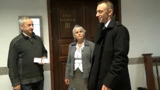 Sędzia Sądu Rejonowego w Pruszkowie i pani Danuta Kubik...