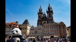 Прага/ День 3/ Староместская площадь/ Необычное кафе/ Музей Авиации