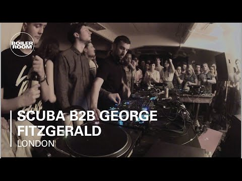 Scuba b2b George Fitzgerald Boiler Room London DJ Set