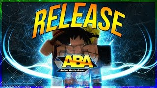 ABA RELEASE ANIME BATTLE ARENA IS OUT! | ROBLOX