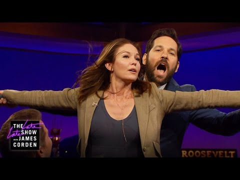 Diane Lane & Paul Rudd Recreate 'Titanic'
