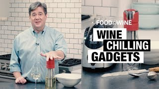 How to Chill Wine Quickly | Bottle Service | Food & Wine