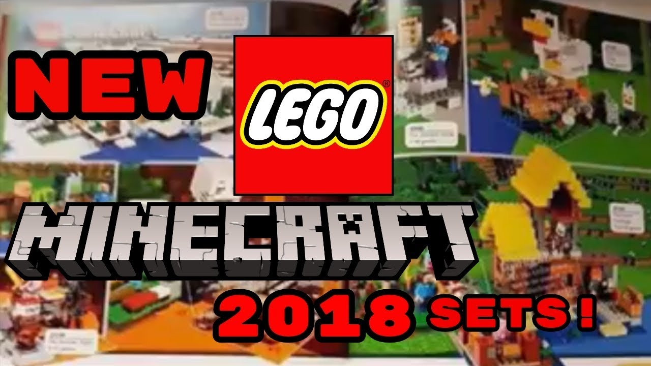 New Lego Minecraft 2018 Sets Pictures Leaked Youtube