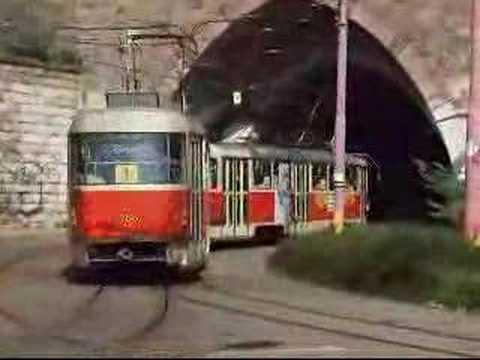 Tatra trams in Bratislava - Straßenbahn - Villamos