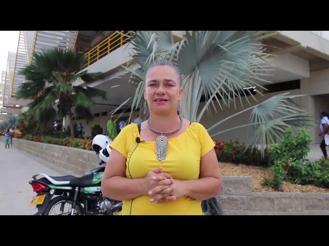 Mary Giraldo Pineda opina sobre la apertura del nuevo Mercado de Santa Rita