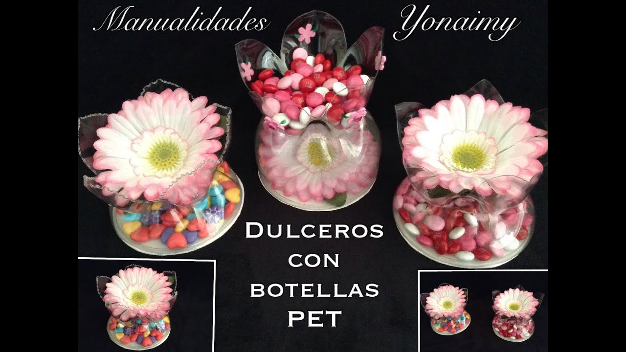 Dulcero Botellas De Pet