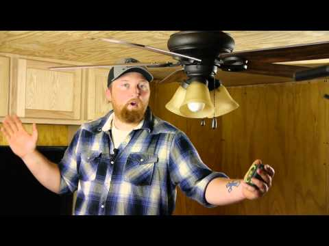 How to Measure for a Ceiling Fan : Ceiling Fan Maintenance