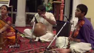 Srita Kamala Kucha Mandala Dhruta Kundalae - Jayadeva Asthapadi- Bhairavi Ragam - Triputa Talam