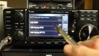 Icom IC-7300 Tips and Tricks - Software Connection Issues