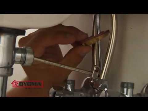 Udskiftning af vandhane - YouTube