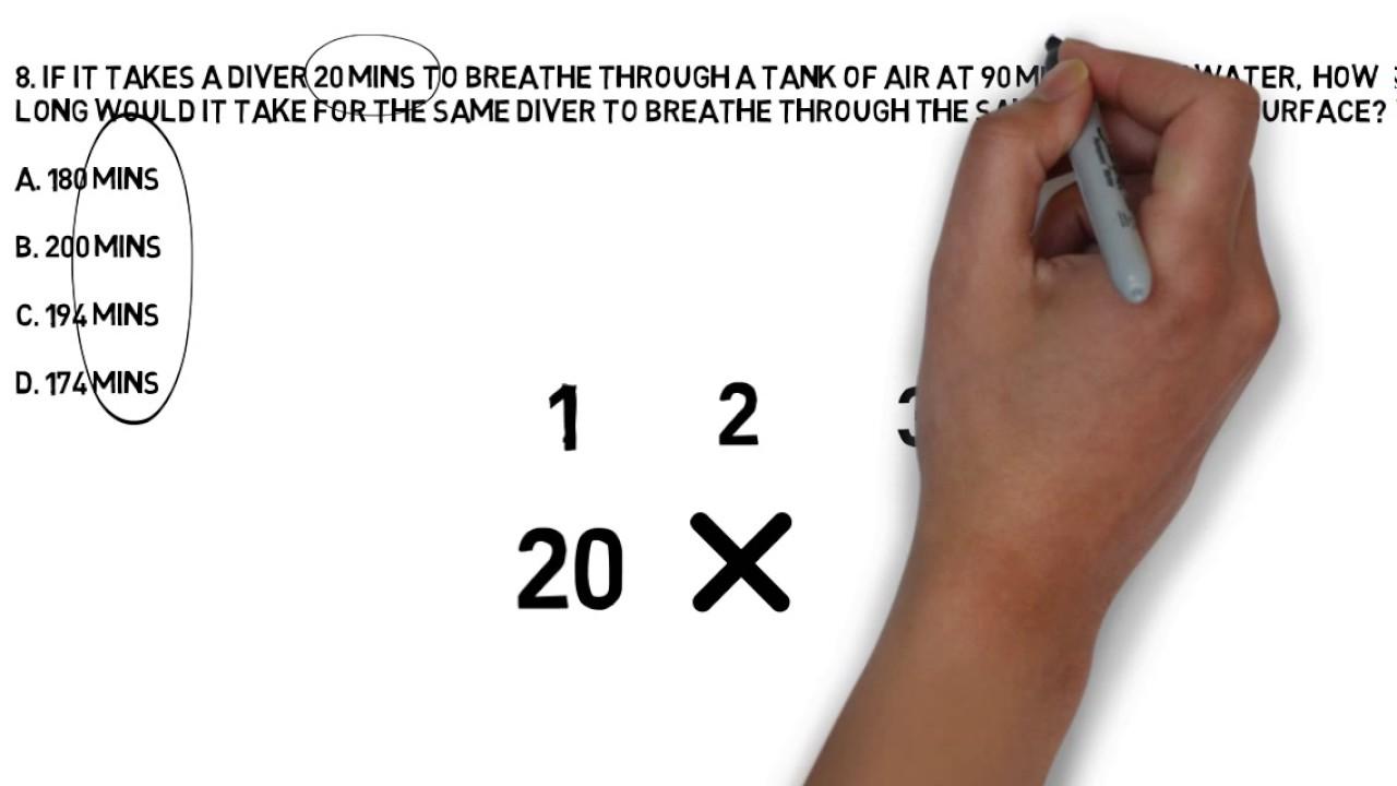 Divemaster Physics Exam Practice Questions
