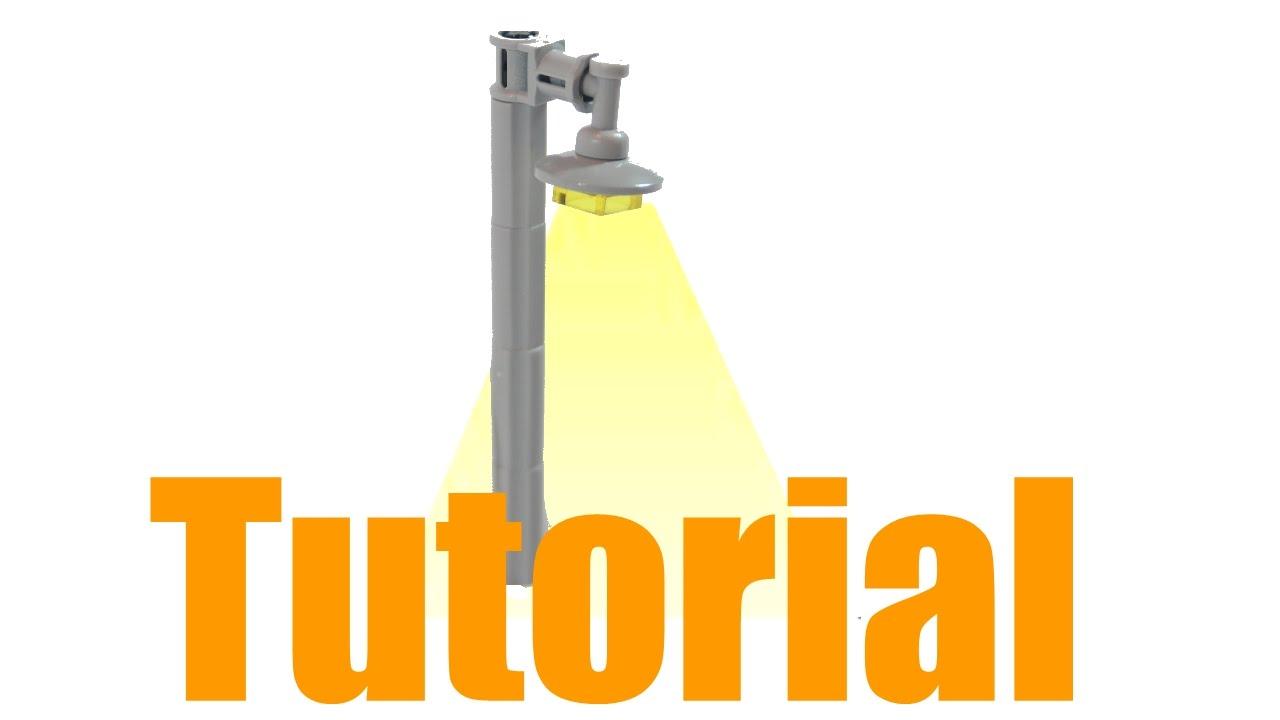 Lego Lamp Post Tutorial