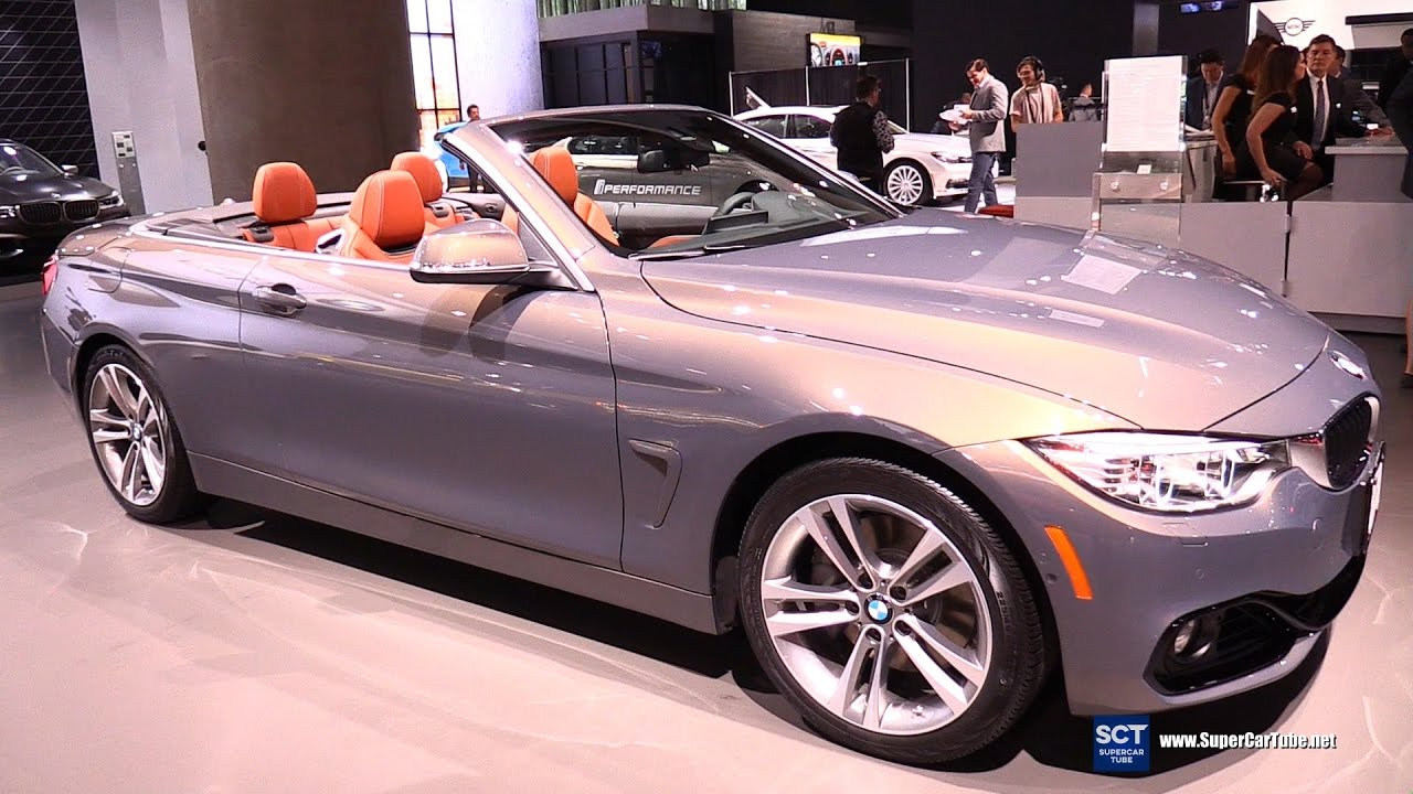 2017 Bmw 4 Series 440i Convertible Exterior And Interior Walkaround 2016 La Auto Show You